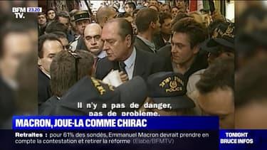 En 1996, Jacques Chirac s'était emporté à Jérusalem - 22/01