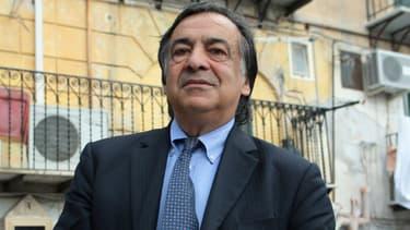 Leoluca Orlando, le maire de la ville italienne de Palerme, en mai 2012