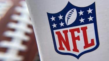 Le logo de la NFL photographié le 24 juin 2020 à Los Angeles