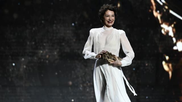 Jeanne Balibar le 3 mars 2018 à Paris.