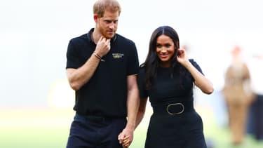 Le prince Harry et Meghan Markle en juin 2019