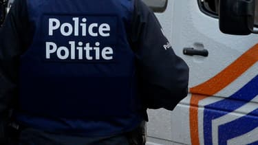 Un policier belge - Image d'illustration