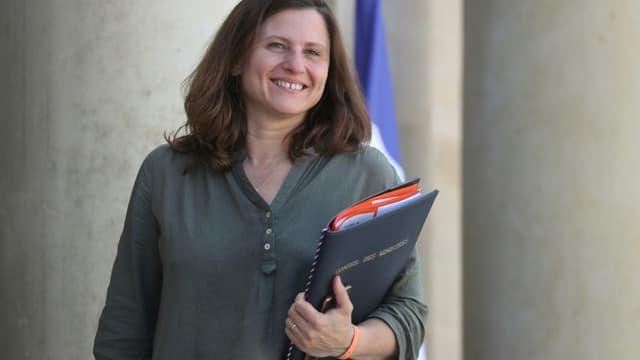 La ministre déléguée aux Sports, Roxana Maracineanu, à l'Elysée, le 7 juillet 2020