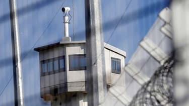 Le mur d'enceinte extérieure d'une prison (Photo d'illustration).