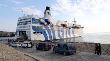 Un ferry de la compagnie NGV (PHOTO D'ILLUSTRATION)