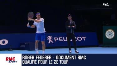 """Open d'Australie: """"Un succès parfait pour mon premier match de l'année"""" avoue Federer"""