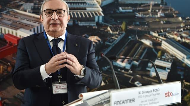 Giuseppe Bono, PDG du groupe italien Fincantieri