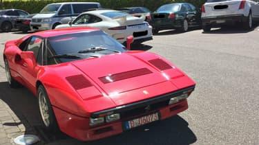 La Ferrari 288 GTO volée