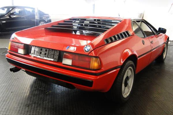 La première des 453 M1 produites à avoir été immatriculée est exposée cette année au salon Techno Classica.