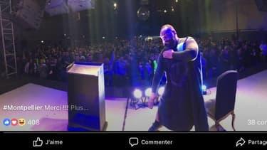Dieudonné en spectacle à Montpellier le 28 février