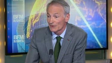 Dominique Senard, le président de Michelin, était l'invité de BFM Business.