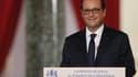 François Hollande lors de sa conférence de presse jeudi.
