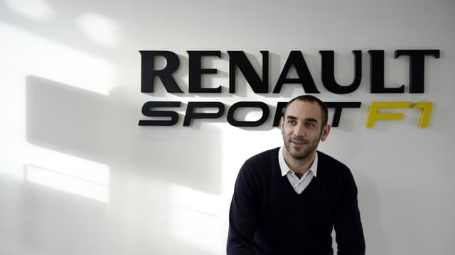 Cyril Abitboul, patron de Renault Sport F1