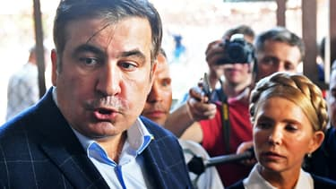 Mikheïl Saakachvili est entré de force en Ukraine