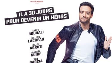 """Affiche de """"30 jours max"""" de Tarek Boudali"""