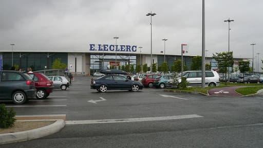 Le groupe Leclerc a gagné des parts de marché sur son concurrent Carrefour en mai.