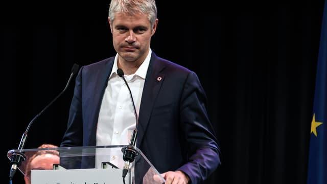 Le chef des Républicains Laurent Wauquiez, le 4 décembre 2017 à Lille lors de sa campagne pour obtenir la présidence du parti.