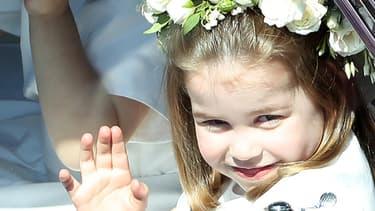 La princesse Charlotte en avril dernier