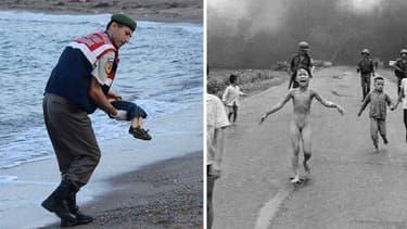 En 1972, la photo de la petite Vietnamienne courant nue et hurlant sadouleur avaait choqué laplanète entière.