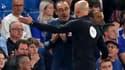 L'entraîneur italien de Chelsea Maurizio Sarri a été expulsé lundi soir face à Burnley.