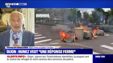 """Dijon: François Rebsamen, le maire PS de la ville, veut """"une sanction rapide"""""""