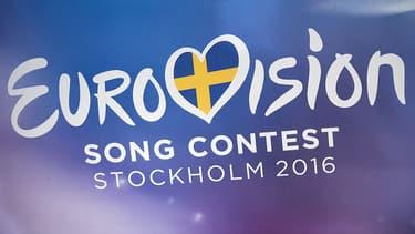 Le logo du prochain concours de l'Eurovision 2016, qui se tiendra à Stockholm, en mai prochain.
