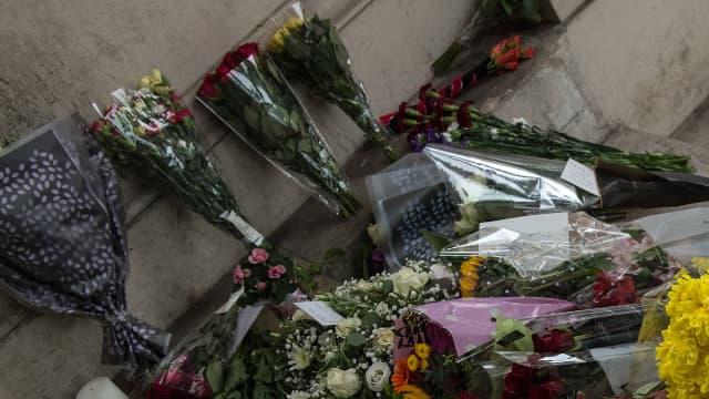 De nombreux hommages ont été rendus aux victimes sur la Promenade des anglais.
