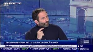 """Benoît Hamon: """"le message que je passe à Bruno Le Maire est très clair: c'est une grave erreur de ne pas automatiser le RSA"""""""