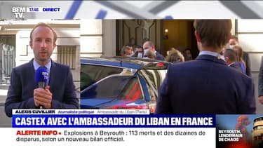 Jean Castex s'est entretenu avec l'ambassadeur du Liban en France