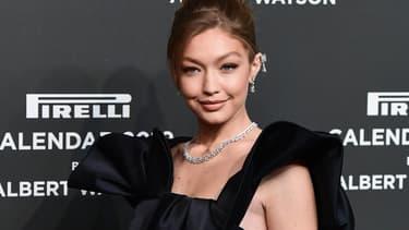 Le mannequin Gigi Hadid en décembre 2018
