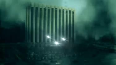 La vidéo de propagande prédit un avenir funeste à la capitale dont ne doivent rester que des cendres, selon Pyongyang.