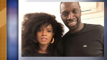 Assa Traoré et Omar Sy