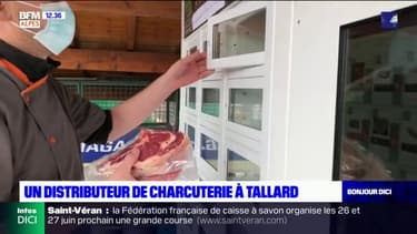 Tallard: un distributeur de viande et de charcuterie