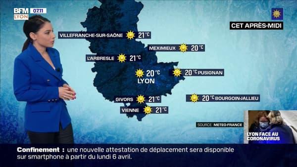 Une météo très ensoleillée ce dimanche avec des températures dignes dun mois de mai jusquà 20C à Lyon (1).jpg