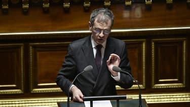 Le sénateur Jean-Louis Masson au Sénat en 2016.