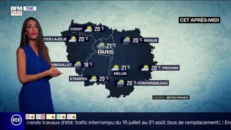 Météo Paris-Ile de France du 3 juillet: Fraîcheur et averse