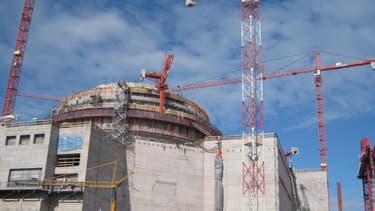 Le chantier de l'EPR finlandais.