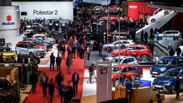 Le Salon de l'automobile de Genève en mars 2019