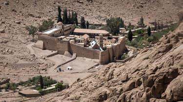 Le monastère Sainte-Catherine dans le Sinaï, en Egypte