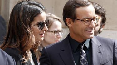 Jean-Luc Delarue au côté de sa compagne Anissa en juin 2011