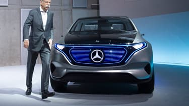 Mercedes est attaqué en Chine sur son modèle EQ.