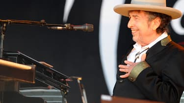 Bob Dylan sur scène en juillet 2012