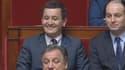 Gérald Darmanin a beau avoir 32 ans, il rigole à la manière de Philippe Bouvard.