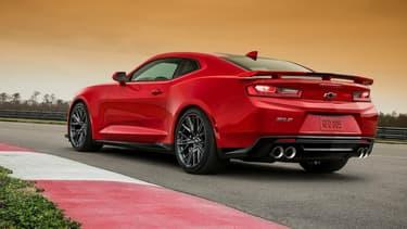 Révélée en début de semaine, la Chevrolet Camaro ZL1 sera l'une des grandes stars de cette édition 2016 du Salon automobile de New York.
