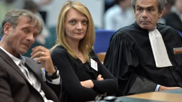 Rachel Lambert à la CEDH en juin 2015.