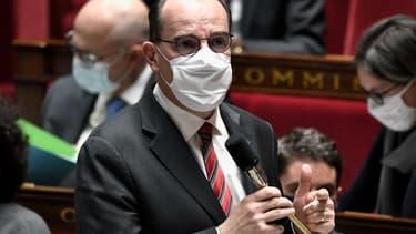 Jean Castex à l'Assemblée nationale ce mardi.