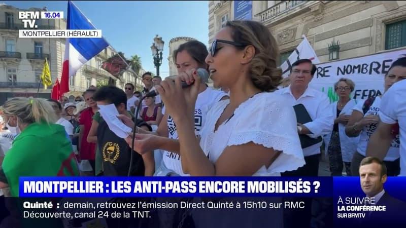 Plusieurs milliers de manifestants mobilisés à Montpellier contre le pass sanitaire