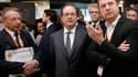 François Hollande au salon des entrepreneurs.