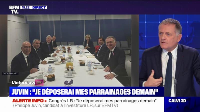 """Philippe Juvin sur la présidentielle: Les Républicains """"doivent arriver en équipe, sinon nous perdrons"""""""