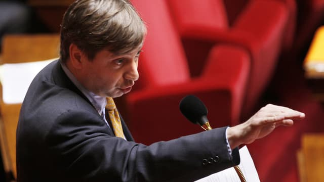 François Grosdidier, en 2008, à l'Assemblée nationale.